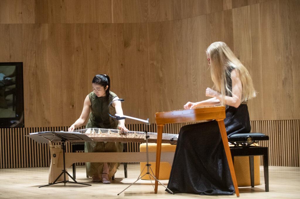Kontsert 'Yoshino mäel' Naoko Kikuchi (koto), Kristi Mühling (kannel) Arvo Pärdi Keskus 2019, festival ESCM